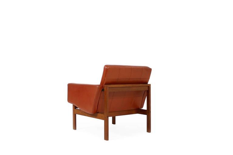 1960s Danish Easy Chair by Ole Gjerlov-Knudsen & Torben Lind for CADO For Sale 1
