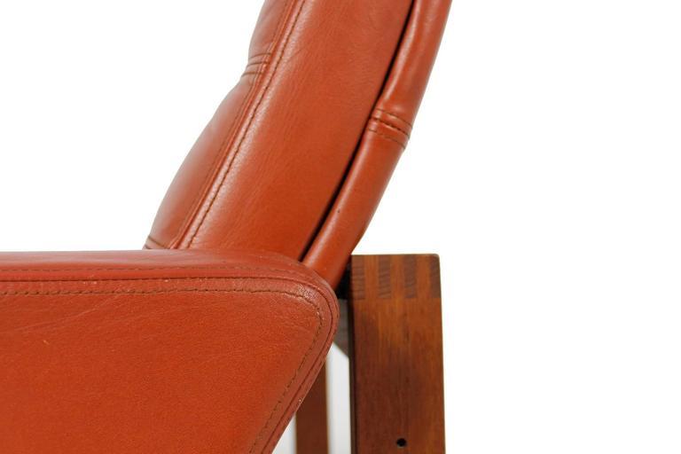 1960s Danish Easy Chair by Ole Gjerlov-Knudsen & Torben Lind for CADO In Good Condition For Sale In Hamminkeln, DE