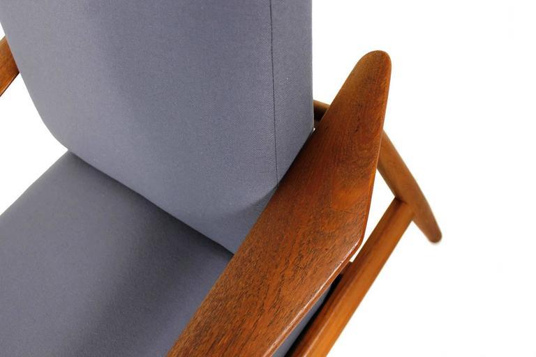 Beautiful Pair of 1960s Arne Vodder Teak Easy Chairs Mod. 164, Danish Modern In Excellent Condition For Sale In Hamminkeln, DE