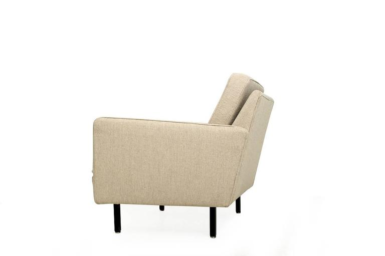Rare 1960s George Nelson 'Loose Cushion' Lounge Chair Mod. 5681, Herman Miller 5
