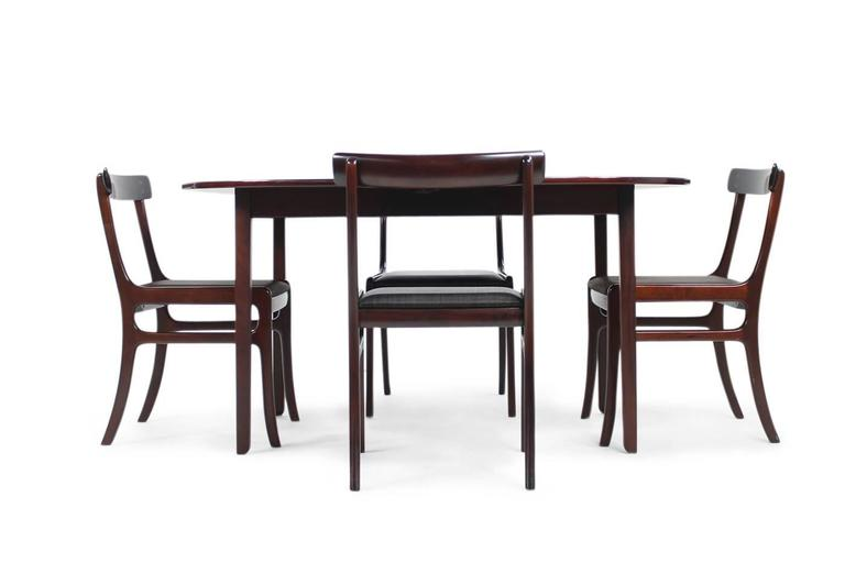dining room set rungstedlund table and 10 chairs mahogany at