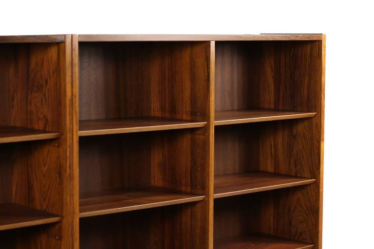 pieces f regal large storage poul furniture mid shelf hundevad danish for l of modern bookcases pair id shelves rosewood century case