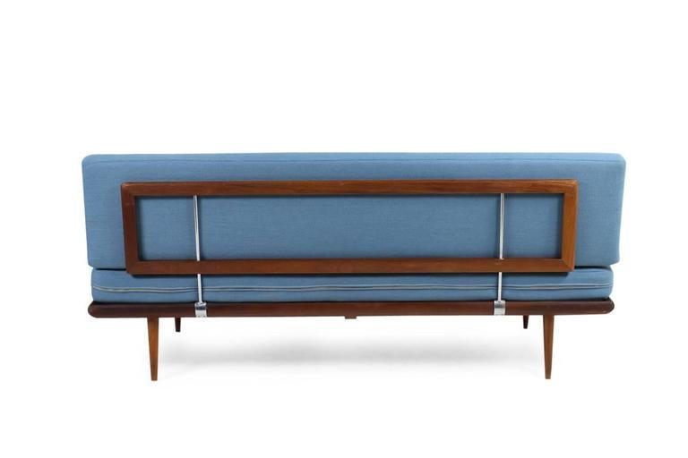 Danish Modern 1960s Daybed by Peter Hvidt & Orla Mølgaard Nielsen Teak Sofa For Sale 1