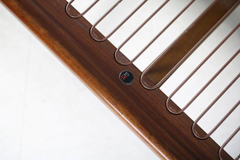 Danish Modern 1960s Daybed by Peter Hvidt & Orla Mølgaard Nielsen Teak Sofa For Sale 2