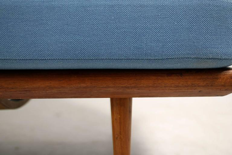 Danish Modern 1960s Daybed by Peter Hvidt & Orla Mølgaard Nielsen Teak Sofa In Good Condition For Sale In Hamminkeln, DE