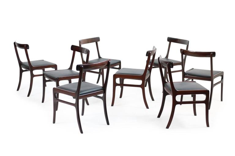 Mid-20th Century 1960s Ole Wanscher Pj Dining Room Set
