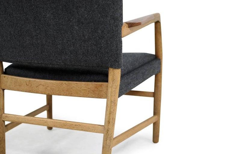1950s Hans J Wegner Town Hall Chair Oak And Teak Mid