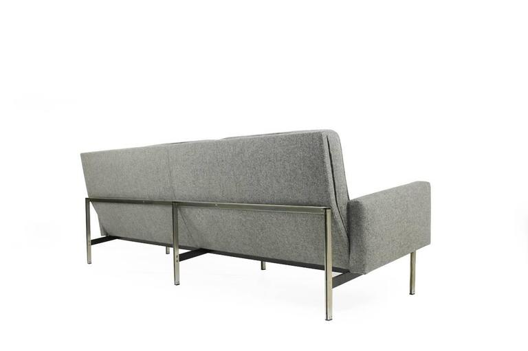 Florence Knoll Parallel Bar Lounge Sofa Mod  57 Mid Century Modern 1959 3Florence Knoll Parallel Bar Lounge Sofa Mod  57 Mid Century Modern  . Florence Knoll Sofa Dimensions. Home Design Ideas