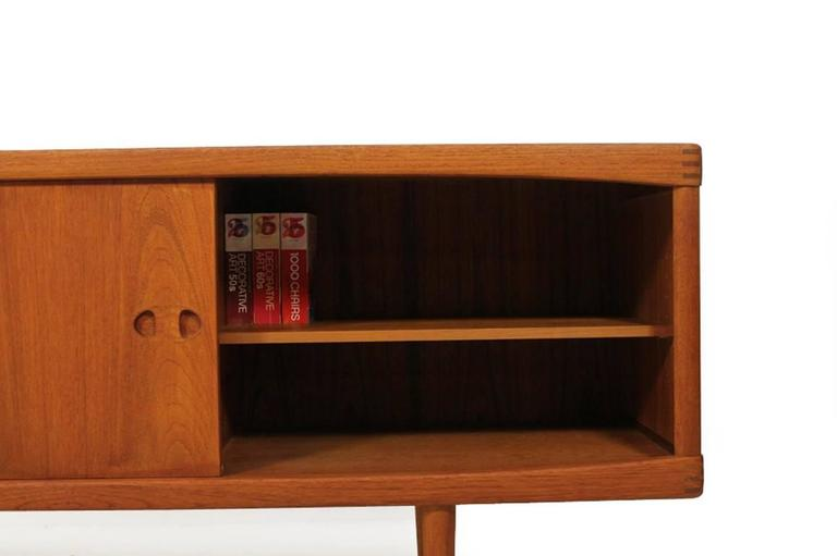 midcentury h w klein teak sideboard bramin denmark. Black Bedroom Furniture Sets. Home Design Ideas