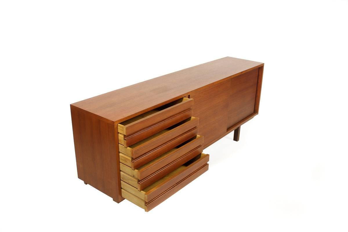 1960s Teak Sideboard Mod 212 By Helmut Magg Germany 1963 Mid Century Modern At 1stdibs