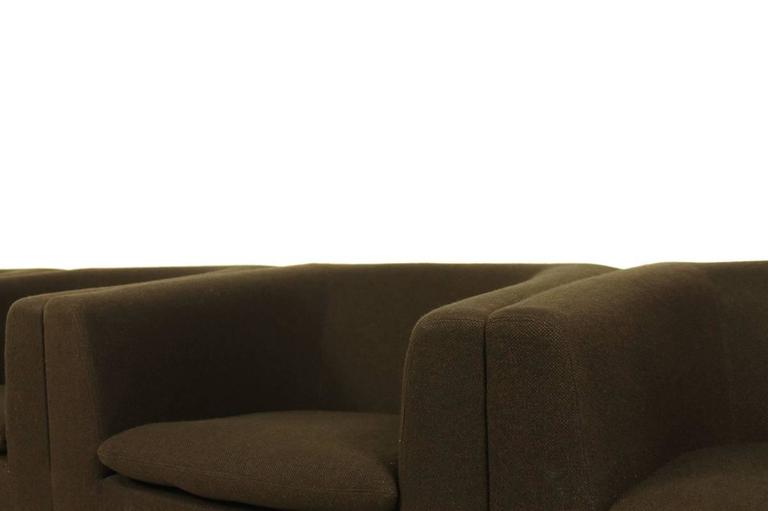 Dutch 1960s Sofa Mod. 630 by Geoffrey Harcourt for Artifort Modular Seating Metal Base For Sale