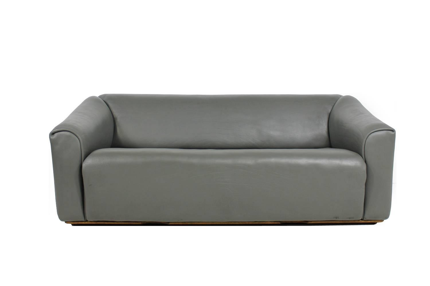 1970s De Sede Ds 47 Vintage Buffalo Leather Lounge Sofa For Sale At 1stdibs