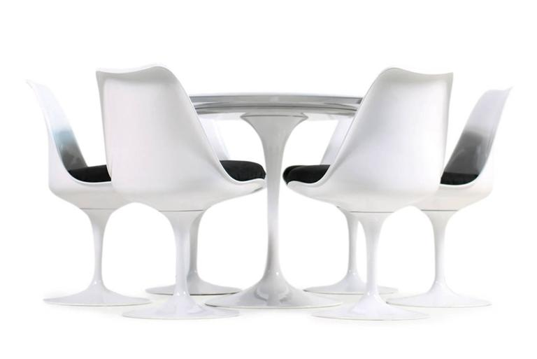 Gentil Beautiful Genuine Eero Saarinen For Knoll International Dining Set, Tulip  Dining Table (120 Cm