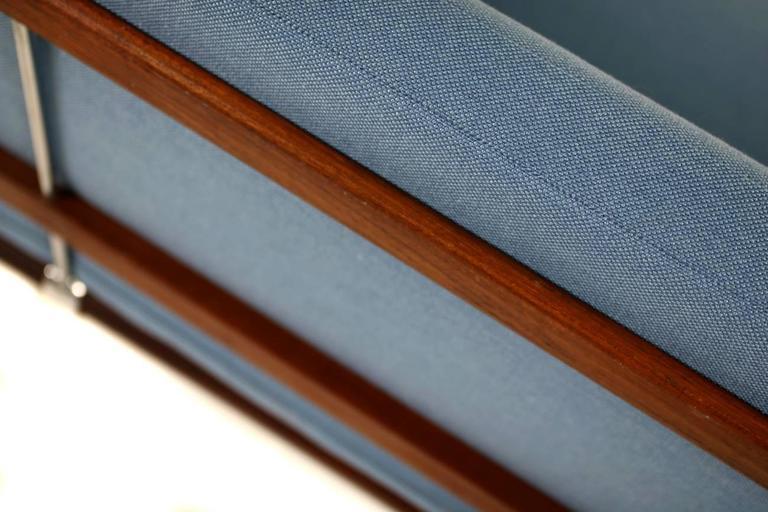 Danish Modern 1960s Daybed by Peter Hvidt & Orla Mølgaard Nielsen Teak Sofa For Sale 3