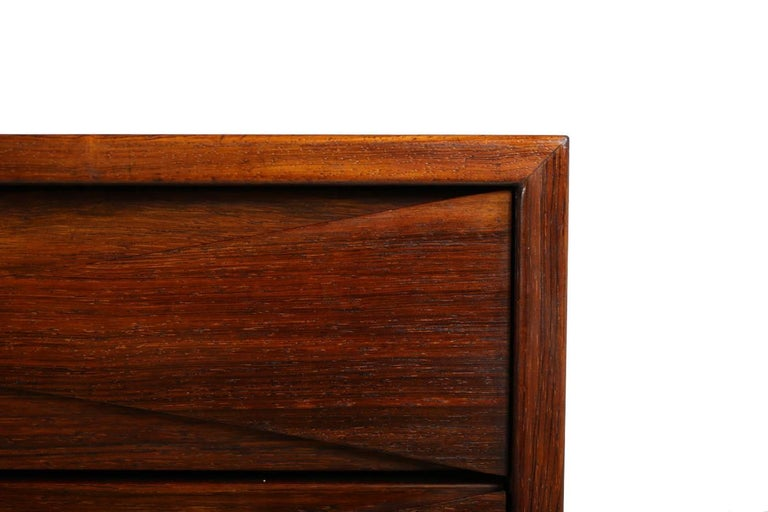 Rosewood 1960s Danish Arne Vodder Chest of Drawers for NC Mobler Denmark, Sideboard For Sale