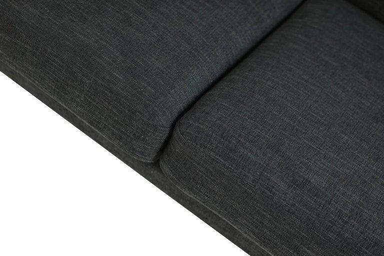 Mid-Century Modern 1960s Hans J. Wegner Sofa Mod. Ge 300 for GETAMA, Denmark, New Upholstery, Oak For Sale