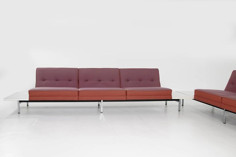 1970s George Nelson Modular Sofa and Tables Landscape Seating Herman Miller 6