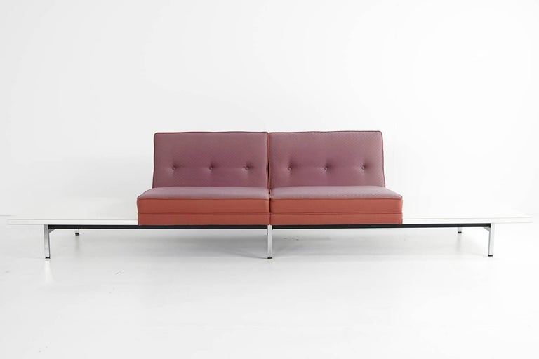 1970s George Nelson Modular Sofa and Tables Landscape Seating Herman Miller 3