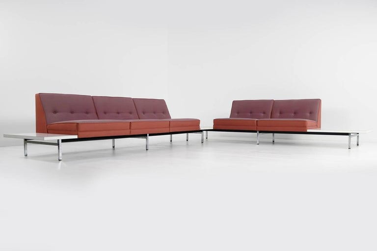 1970s George Nelson Modular Sofa and Tables Landscape Seating Herman Miller 5