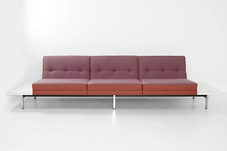 1970s george nelson modular sofa and tables landscape seating herman miller for sale at 1stdibs. Black Bedroom Furniture Sets. Home Design Ideas