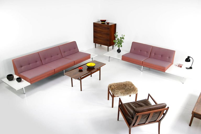 1970s George Nelson Modular Sofa and Tables Landscape Seating Herman Miller 9