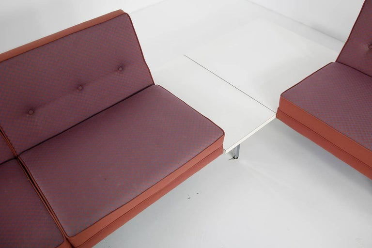 1970s George Nelson Modular Sofa and Tables Landscape Seating Herman Miller 7