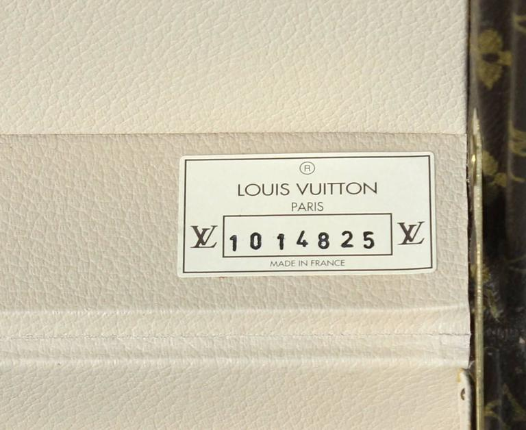 French Louis Vuitton Vanity Case For Sale