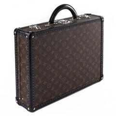 Louis Vuitton Monogram Briefcase with Black Edging
