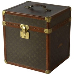 1930s Louis Vuitton Monogram Hat Trunk