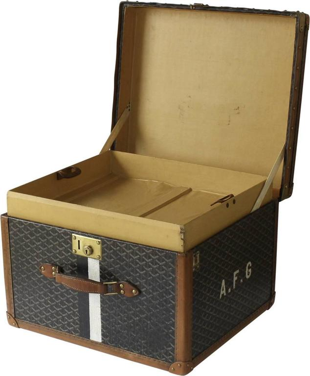 1920s Goyard Miniature Hat Box For Sale at 1stdibs