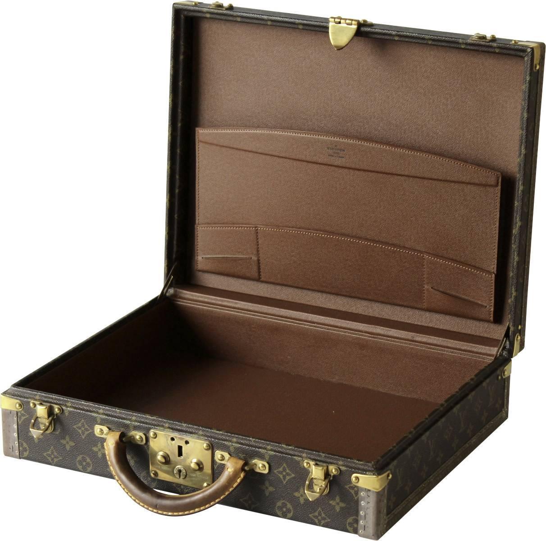 5ace8e51fa9e 1960s Vintage Louis Vuitton President Briefcase at 1stdibs