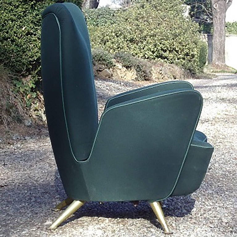 Very rare armchair designed for the ETR 300 train, called