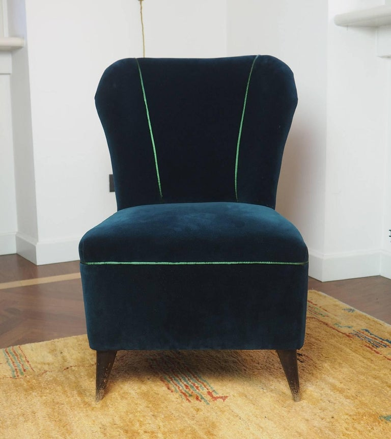 Pair of enchanting armchairs newly upholstered,