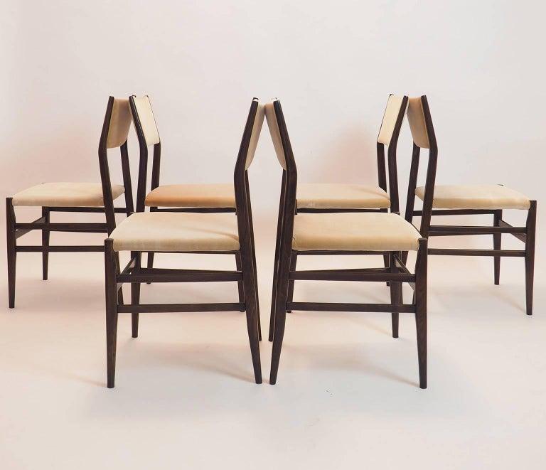 Mid-Century Modern Gio Ponti Midcentury Chairs