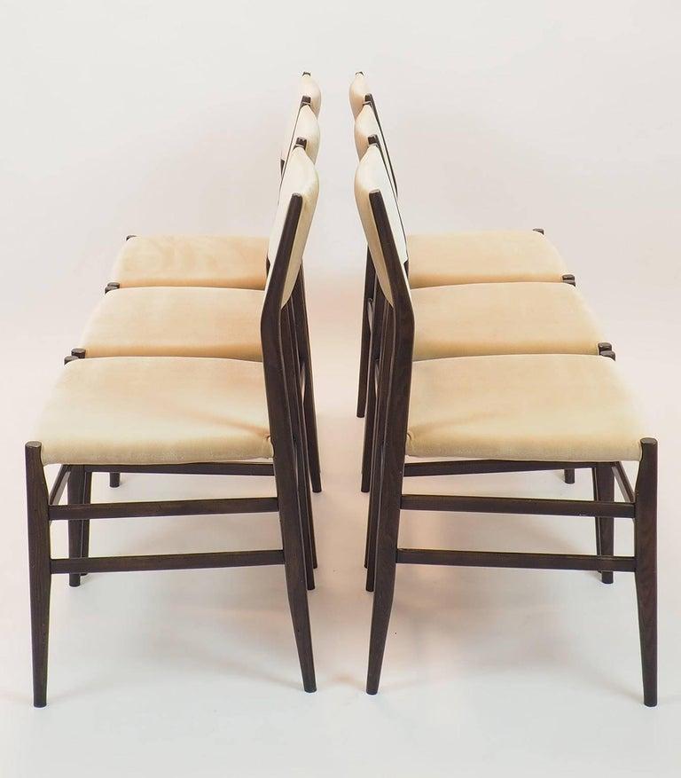 Italian Gio Ponti Midcentury Chairs
