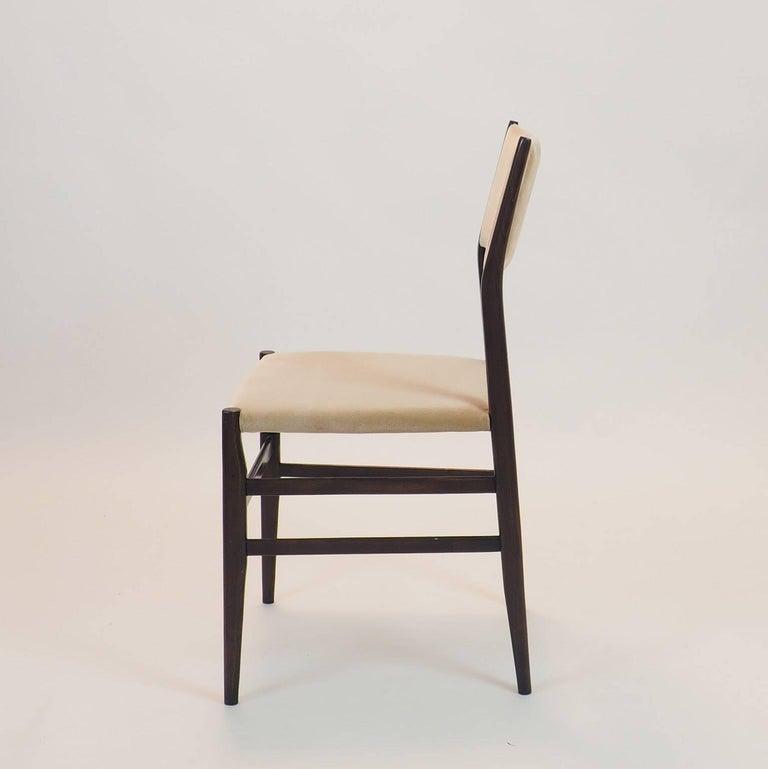 Turned Gio Ponti Midcentury Chairs
