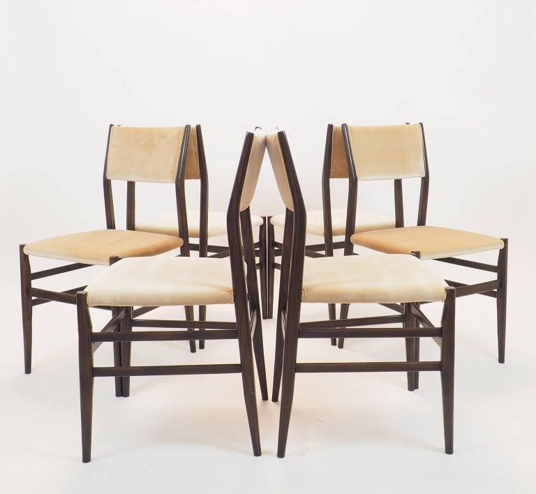Gio Ponti Midcentury Chairs