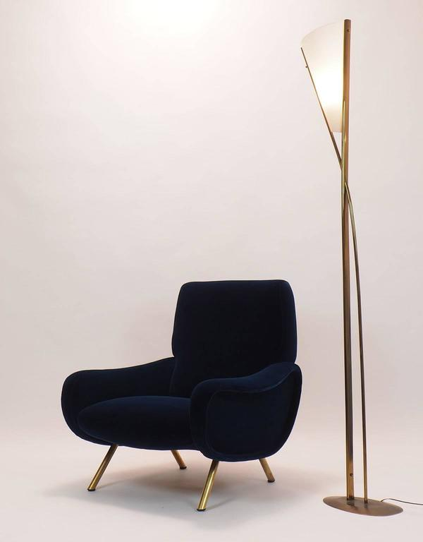 Italian Couple of Lounge Chairs Lady Designed by Marco Zanuso for Arflex Milano 5