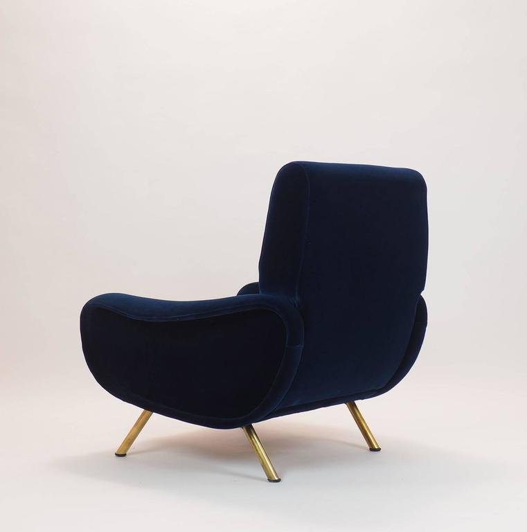Italian Couple of Lounge Chairs Lady Designed by Marco Zanuso for Arflex Milano 6
