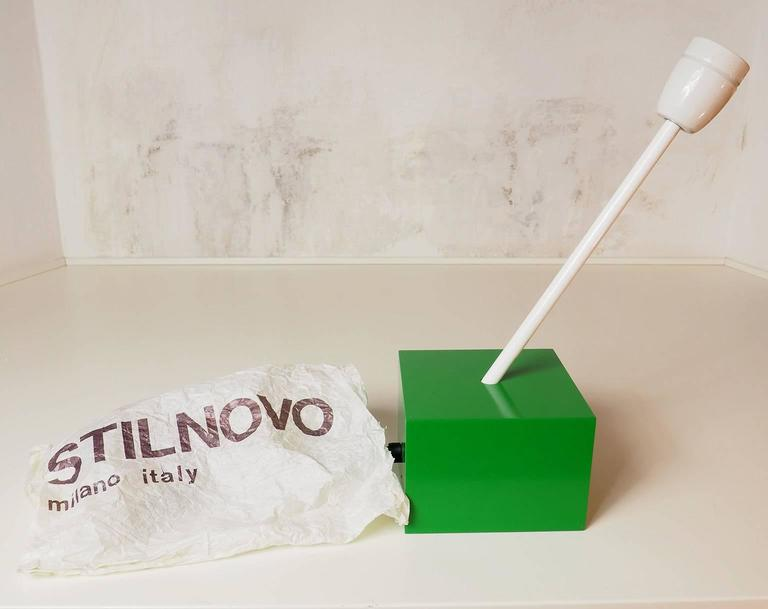 Pair of Table Lamps DON Designed by Ettore Sottsass for Stilnovo, Milano, 1973 10