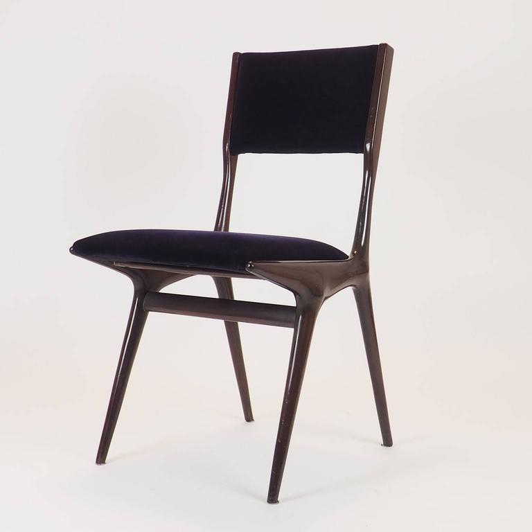 Carlo De Carli Sculptural Chair Designed For Cassina