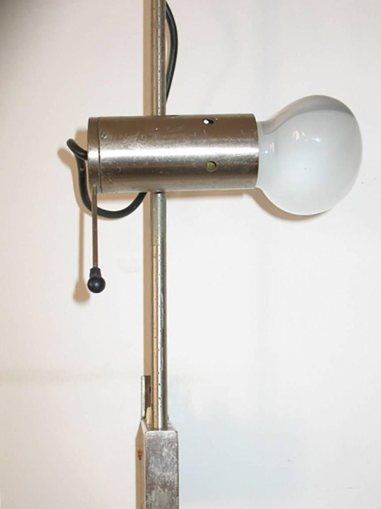 Lampada Da Studio Design italian rare studio wall lamp designed by tito agnoli for