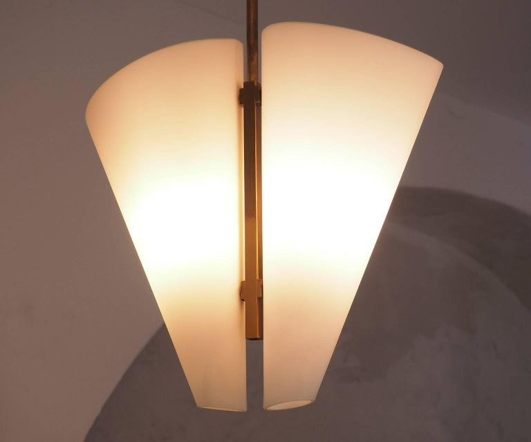 Italian Elegant Timeless and Rare Chandelier Design by Fontana ...