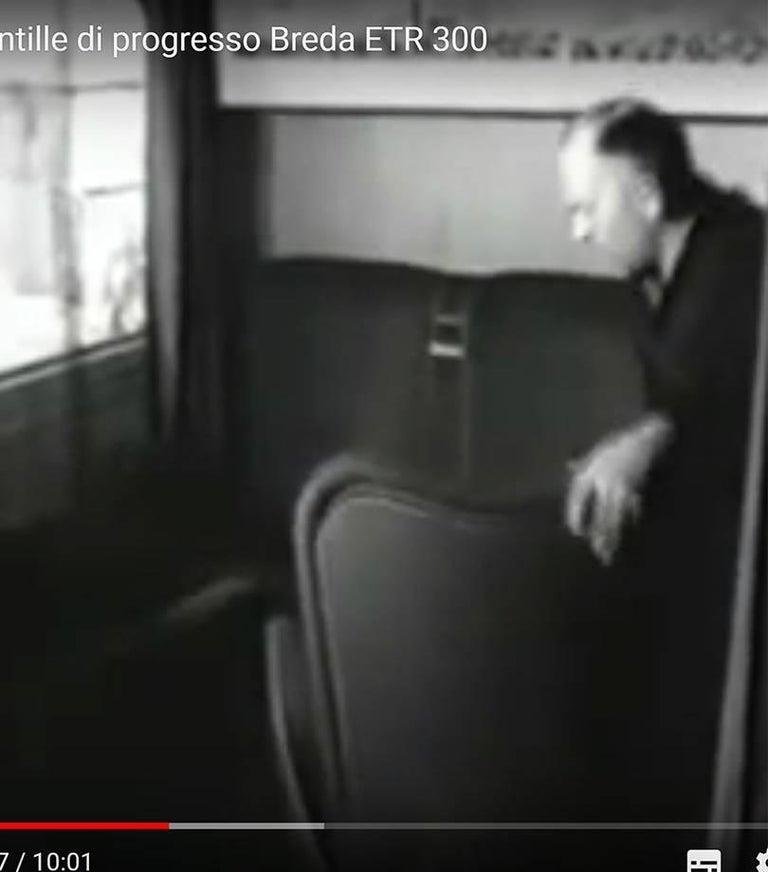Gio Ponti e Giulio Minoletti Armchair Provenance Settebello Train in Milano 1950 For Sale 3