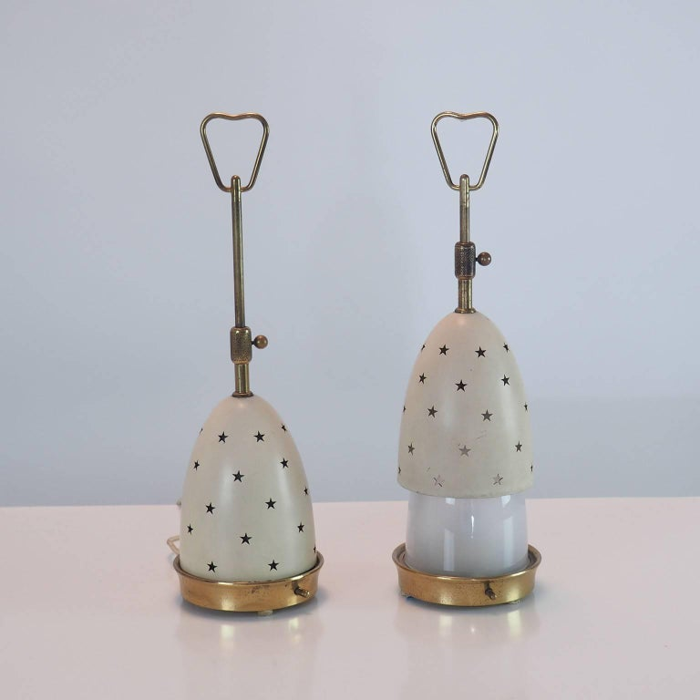 Mid-20th Century Arredoluce Pair of Table Lamps