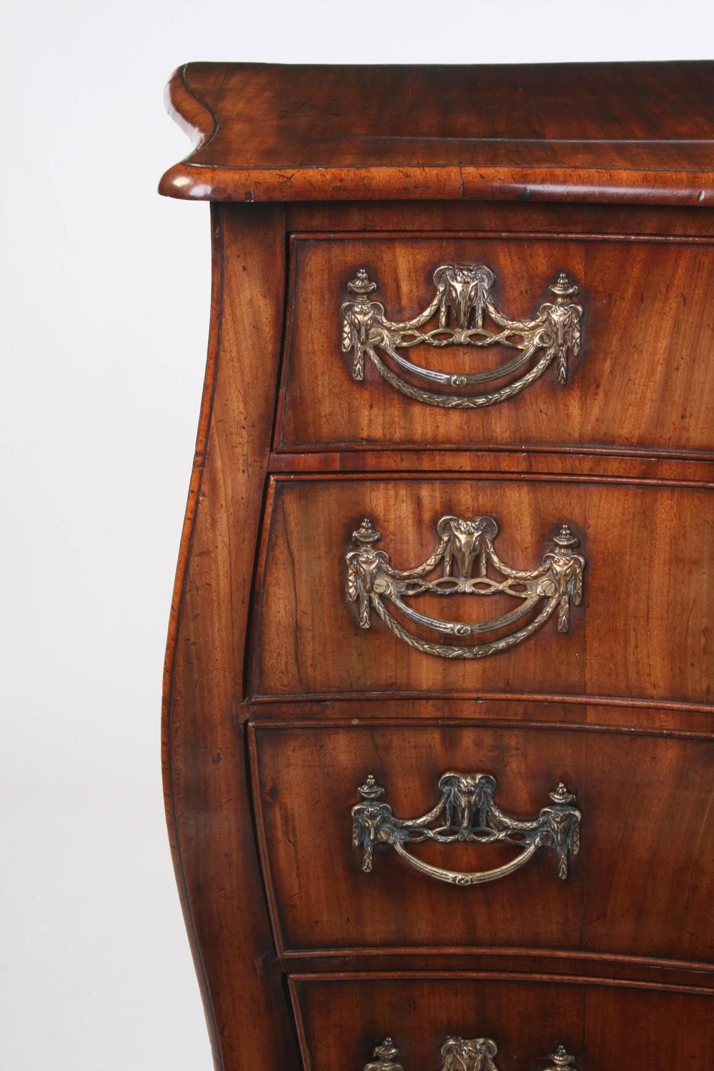 18th century dutch mahogany bombe commode for sale at 1stdibs - Commode style colonial ...