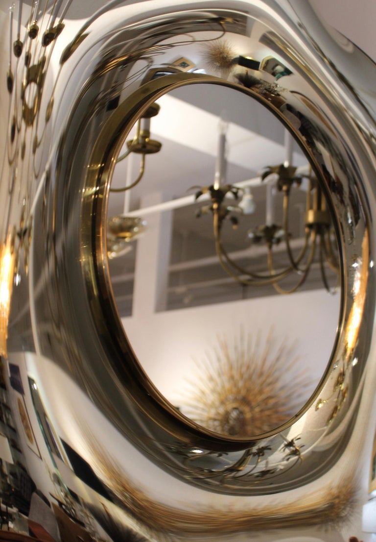 Wave Italian Mirror by Ghiró Studio For Sale 2