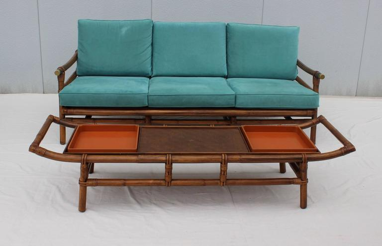 Id F_4061303 on Ficks Reed Rattan Coffee Table