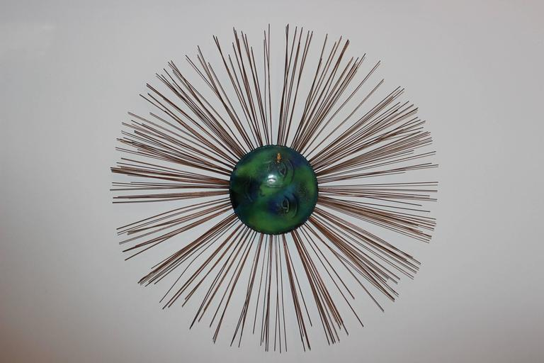 1966 C. Jere moon starburst wall sculpture.