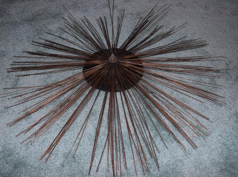 20th Century C. Jere Moon Starburst Wall Sculpture For Sale